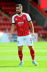 Chris Clements of Cheltenham Town- Mandatory by-line: Nizaam Jones/JMP - 12/09/2020 - FOOTBALL - Jonny-Rocks Stadium - Cheltenham, England - Cheltenham Town v Morecambe - Sky Bet League Two
