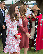 VANCOUVER -BC- CANADA - 25th-Sept 2016. <br /> The Duke and Duchess of Cambridge on their official visit to Canada.<br /> William and Kate meets Canadian Coast Guard and Vancouver First Responders at an event at the Kitsilano Coast Guard Station, Vanier Park.<br /> ©Exclusivepix Media