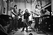 BIRMINGHAM, AL – DECEMBER, 2007: Indie rock band The Triceratops.