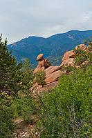 Colorado Springs; Colorado; Garden of the Gods