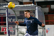 06/10/2020: Dundee FC train at Kilmac Stadium after their Betfred Cup match against Forfar Athletic was postponed due to a positive COVID test result for one of the Forfar players: Cammy Kerr of Dundee <br /> <br /> <br />  :©David Young: davidyoungphoto@gmail.com: www.davidyoungphoto.co.uk