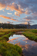 Carson River at Dawn, Eldorado National Forest, Alpine County, California