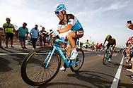 Tony Gallopin (FRA - AG2R - La Mondiale), during the UCI World Tour, Tour of Spain (Vuelta) 2018, Stage 9, Talavera de la Reina - La Covatilla 200,8 km in Spain, on September 3rd, 2018 - Photo Luca Bettini / BettiniPhoto / ProSportsImages / DPPI