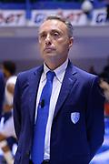 DESCRIZIONE : Brindisi  Lega A 2015-16<br /> Enel Brindisi Obiettivo Lavoro Virtus Bologna<br /> GIOCATORE : Piero Bucchi<br /> CATEGORIA : Allenatore Coach Ritratto Before Pregame<br /> SQUADRA : Enel Brindisi<br /> EVENTO : Campionato Lega A 2015-2016<br /> GARA :Enel Brindisi Obiettivo Lavoro Virtus Bologna<br /> DATA : 11/10/2015<br /> SPORT : Pallacanestro<br /> AUTORE : Agenzia Ciamillo-Castoria/M.Longo<br /> Galleria : Lega Basket A 2014-2015<br /> Fotonotizia : Brindisi  Lega A 2015-16 Enel Brindisi Obiettivo Lavoro Virtus Bologna<br /> Predefinita :