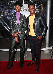 December 4, 2018 - Hollywood, California, United States - HOLLYWOOD, LOS ANGELES, CA, USA - DECEMBER 04: Actors KiKi Layne and Stephan James arrive at the Los Angeles Special Screening Of Annapurna Pictures' 'If Beale Street Could Talk' held at ArcLight Hollywood on December 4, 2018 in Hollywood, Los Angeles, California, United States. (Credit Image: © face to face via ZUMA Press)