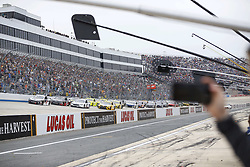 May 6, 2018 - Dover, Delaware, United States of America - A PR rep videos a restart during the AAA 400 Drive for Autism at Dover International Speedway in Dover, Delaware. (Credit Image: © Chris Owens Asp Inc/ASP via ZUMA Wire)