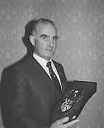 The recipient of the G.A.A. Personality of the Month Award on the 4th of February 1974.