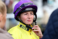 Jockey Paula Muir during the October Finale Meeting at York Racecourse, York, United Kingdom on 11 October 2019.