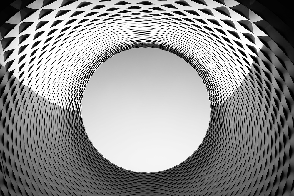Architecture detail in Basel, Switzerland