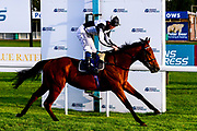 Songkran ridden by David Probert and trained by George Boughey wins the Free Tips Daily On Attheraces.com Handicap - Mandatory by-line: Dougie Allward/JMP - 10/07/2020 - HORSE RACING - Bath Racecourse - Bath, England - Bath Races
