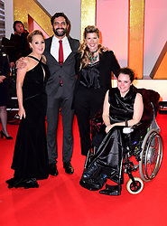 (left to right) Sally Dynevor, Charlie de Melo, Connie Hyde and Cherylee Houston attending the National Television Awards 2019 held at the O2 Arena, London. PRESS ASSOCIATION PHOTO. Picture date: Tuesday January 22, 2019. See PA story SHOWBIZ NTAs. Photo credit should read: Ian West/PA Wire