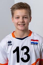 21-12-2018 NED: Photoshoot selection of Orange Young Boys, Arnhem <br /> Orange Young Boys 2018 - 2019 / Jasper van der Voort #13