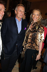 MARK SHAND brother HRH The Duchess of Cornwall and HRH PRINCESS MICHAEL OF KENT at a party to celebrate the publication of 'Last Voyage of The Valentina' by Santa Montefiore at Asprey, 169 New Bond Street, London W1 on 12th April 2005.<br />