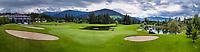 WESTENDORF -  panorama hotel met green hole 9 en hole 18.  Tirol   Oostenrijk,  - Golfanlage Kitzbuheler Alpen Westendorf.    COPYRIGHT KOEN SUYK
