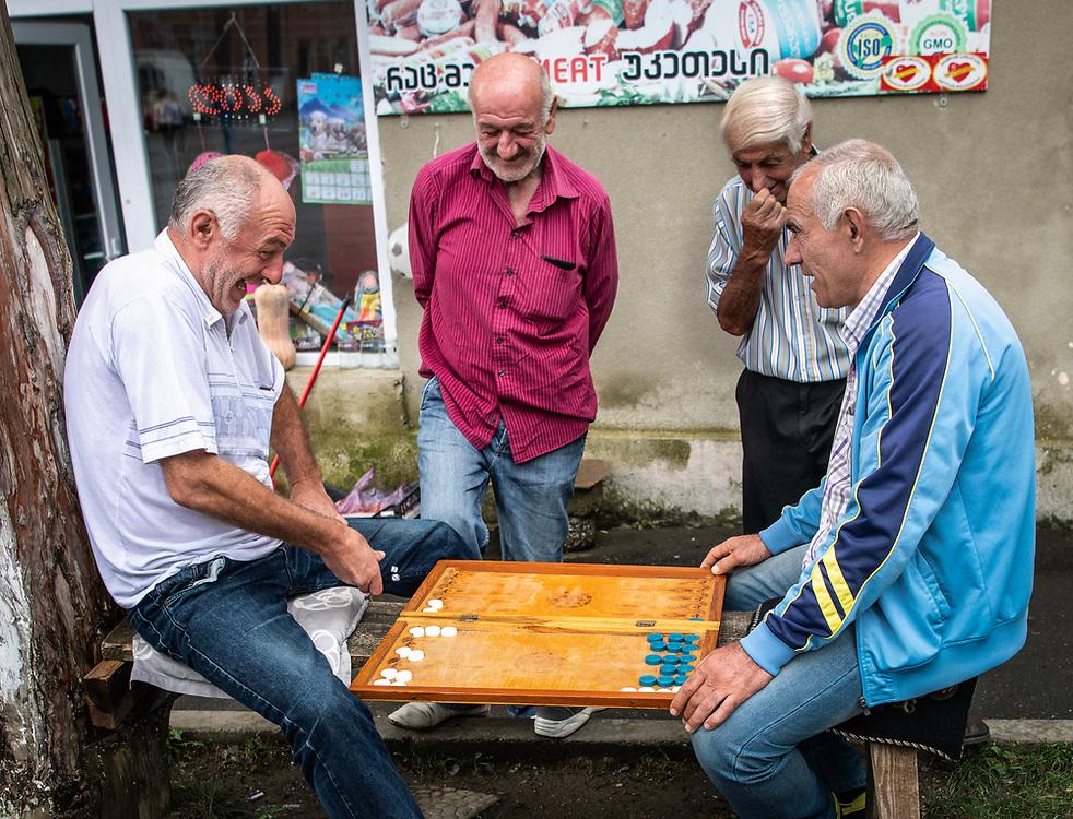 Backgammon in Tsageri