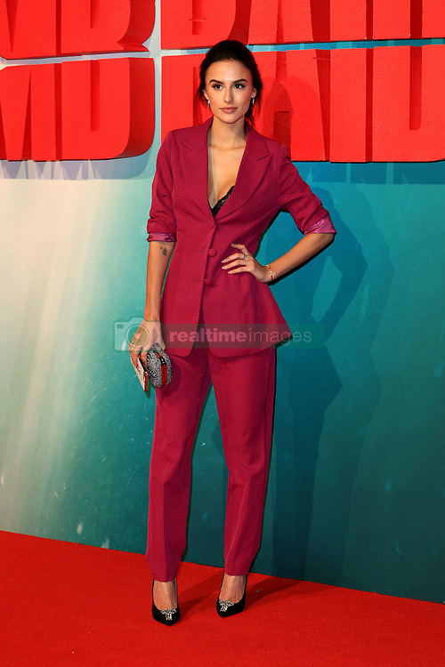 attends the Tomb Raider European premiere at the Vue Cinema in London, UK. 06 Mar 2018 Pictured: Lucy Watson. Photo credit: Fred Duval / MEGA TheMegaAgency.com +1 888 505 6342