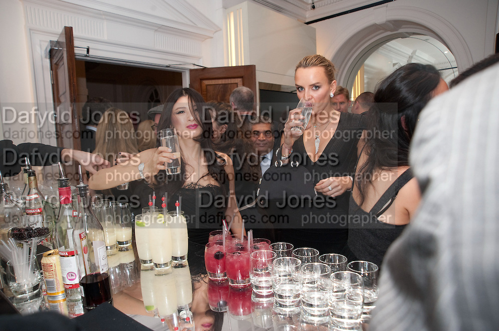 REBECCA WANG; MASHA MARKOVA, Georgina Chapman and Stephen Webster celebrate her guest designer collection for Garrard. Albermarle St. London. 4 November 2009