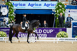 Barbancon Mestre Morgan, ESP, Sir Donnerhall II Old<br /> LONGINES FEI World Cup™ Finals Gothenburg 2019<br /> © Hippo Foto - Dirk Caremans<br /> 06/04/2019