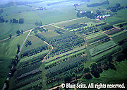 Aerials, Berks Co. PA, Farms, Mixed Cropping