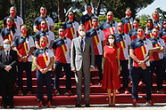 071621 Spanish Royals attends an audience with Spanish Olympic team