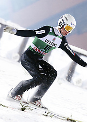 February 8, 2019 - Lahti, Finland - Andreas Schuler participates in FIS Ski Jumping World Cup Large Hill Individual training at Lahti Ski Games in Lahti, Finland on 8 February 2019. (Credit Image: © Antti Yrjonen/NurPhoto via ZUMA Press)