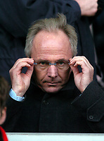 SVEN GORAN ERIKSSON MANAGER ENGLAND WATCHES FROM THE STANDS<br /> LIVERPOOL V SOUTHAMPTON 13/12/03 PREMIER LEAGUE<br /> PHOTO DAVID HARROLD,DIGITALSPORT