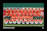 2006 Miami Hurricanes Baseball Team Photo