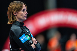 Coach Debbie Klijn of Germany in action during the Women's EHF Euro 2020 match between Netherlands and Germany at Sydbank Arena on december 14, 2020 in Kolding, Denmark (Photo by RHF Agency/Ronald Hoogendoorn)