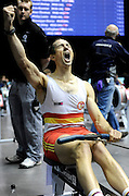 Birmingham, Great Britain,  Men's, 30-34 LWT, Gold Medallist, Tim MALE, Tideway Scullers School,  competing at the 2008 British Indoor Rowing Championships, National Indoor Arena. on  Sunday 26.10.2008 . [Photo, Peter Spurrier/Intersport-images] .