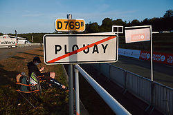 Finish straight on the outskirts of Plouay at the 2020 UEC Road European Championships - Under 23 Women Road Race, a 81.9 km road race in Plouay, France on August 26, 2020. Photo by Sean Robinson/velofocus.com