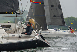 Day 2 Sailing, SCOTLAND<br /> <br /> Class 7, St. Bridget, MAXI 1000, GBR9753R<br /> <br /> The Scottish Series, hosted by the Clyde Cruising Club is an annual series of races for sailing yachts held each spring. Normally held in Loch Fyne the event moved to three Clyde locations due to current restrictions. <br /> <br /> Light winds did not deter the racing taking place at East Patch, Inverkip and off Largs over the bank holiday weekend 28-30 May. <br /> <br /> Image Credit : Marc Turner / CCC