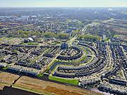 Nederland, Noord-Holland, Zaanstad;  03-23-2020; Rooswijk-Noord, Zaandijk. De nieuwbouwwijk ligt op de grens met het Guisveld. <br /> Rooswijk-Noord, Zaandijk, new housing estate.<br /> <br /> luchtfoto (toeslag op standard tarieven);<br /> aerial photo (additional fee required)<br /> copyright © 2020 foto/photo Siebe Swart