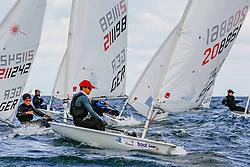 , Kieler Woche 16.06. - 24.06.2018, Laser Rad. - SWE 206881 - Joel Lindqvist