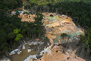 Gold Mining<br /> Arimu<br /> GUYANA<br /> South America