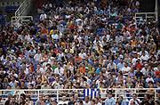 DESCRIZIONE : Atene Grecia Torneo Internazionale Acropolis Grecia Lituania<br /> GIOCATORE : Pubblico Fan Supporter Tifo Tifosi<br /> SQUADRA : Grecia Lituania<br /> EVENTO : Atene Grecia Torneo Internazionale Acropolis Grecia Lituania<br /> GARA : Grecia Lituania<br /> DATA : 20/08/2007 <br /> CATEGORIA :<br /> SPORT : Pallacanestro <br /> AUTORE : Agenzia Ciamillo-Castoria/ActionImages.gr