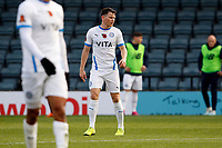 Connor Jennings. Rochdale AFC 1-2 Stockport County. Emirates FA Cup. 7.11.20