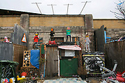 Dismaland, a bemusement park set up by artist Banksy show casing more hand 40 artists. The bemusement park is set in a former lido in Weston Super-Mare.After much secrecy the show opened to a small number of locals from Weston Super-Mare Friday and fully to the public Saturday Aug 22.