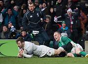 Twickenham, United Kingdom.   Natwest 6 Nations : England vs Ireland. at the  RFU Stadium, Twickenham, England, <br /> <br /> Saturday   17.03.18<br /> <br /> [Mandatory Credit; Peter Spurrier/Intersport-images]