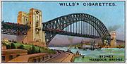 Engineering Wonders, 1927:  Sydney Harbour Bridge, Australia.