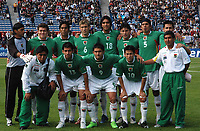 BOLIVIA team during the match  against URUGUAY during their 2010 World Cup qualifying soccer match in Montevideo, October 13, 2007<br /> URUGUAY beat BOLIVIA by 5-0. at the Centenario Stadium in MOntevideo Uruguay.<br /> © PikoPress