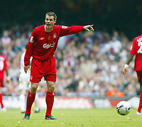 Photo: Chris Ratcliffe.<br />Liverpool v West Ham United. The FA Cup Final. 13/05/2006.<br />Jamie Carragher of Liverpool.
