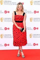 Emily Atack attending the Virgin Media BAFTA TV awards, held at the Royal Festival Hall in London. Photo credit should read: Doug Peters/EMPICS