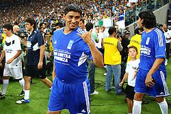 Jardel durante a 10ª edição do Jogo Contra a Pobreza - Match Against Poverty, na Arena do Grêmio, em Porto Alegre. FOTO: Lucas Uebel/Preview.com