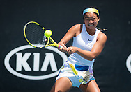 Alexandra Eala of the Philipines in action during the Juniors competition at the 2020 Australian Open, WTA Grand Slam tennis tournament on January 28, 2020 at Melbourne Park in Melbourne, Australia - Photo Rob Prange / Spain ProSportsImages / DPPI / ProSportsImages / DPPI