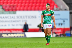Luca Morisi of Benetton Treviso<br /> <br /> Photographer Craig Thomas/Replay Images<br /> <br /> Guinness PRO14 Round 3 - Scarlets v Benetton Treviso - Saturday 15th September 2018 - Parc Y Scarlets - Llanelli<br /> <br /> World Copyright © Replay Images . All rights reserved. info@replayimages.co.uk - http://replayimages.co.uk
