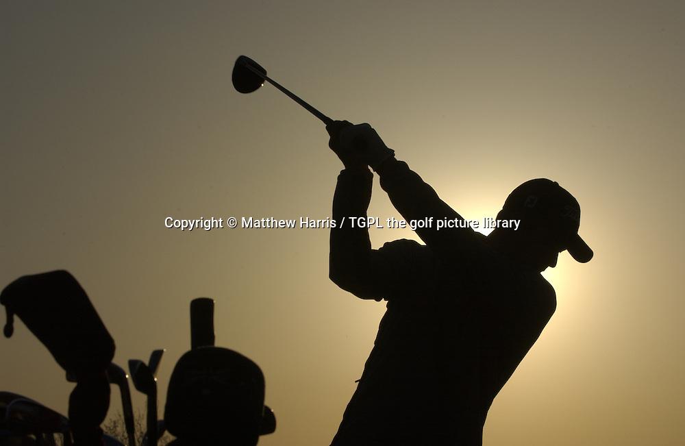 Adam SCOTT (AUS) practice range during first round Johnnie Walker Asian Classic 2005,Pine Valley Resort & Country Club,Beijing,China