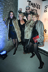 Left to right, SASHA VOLKOVA, AMANDA ELIASCH, ALICE WILSON and ASSIA WEBSTER at the launch of 2 collections by jeweller Stephen Webster - ÔThe 7 Deadly SinsÕ and ÔNo RegretsÕ held at The Old Vics Tunnels, Under Waterloo Station, Off Leake Street, London SE1 on 8th December 2010.<br /> Left to right, SASHA VOLKOVA, AMANDA ELIASCH, ALICE WILSON and ASSIA WEBSTER at the launch of 2 collections by jeweller Stephen Webster - 'The 7 Deadly Sins' and 'No Regrets' held at The Old Vics Tunnels, Under Waterloo Station, Off Leake Street, London SE1 on 8th December 2010.