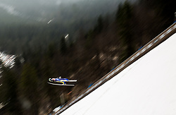Forejumper Nejc Dezman of Slovenia during Ski Flying Hill Men's Team Competition at Day 3 of FIS Ski Jumping World Cup Final 2017, on March 25, 2017 in Planica, Slovenia. Photo by Vid Ponikvar / Sportida