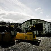 Old mining company in Kirkenes, near the russian border. Three weeks aboard the Kong Harald. Hurtigruten, the Coastal Express.