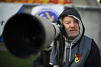 Bialystok, 24.11.2019. N/z Wlodzimierz Sierakowski fotoreporter sportowy przy pracy fot Michal Kosc / AGENCJA WSCHOD